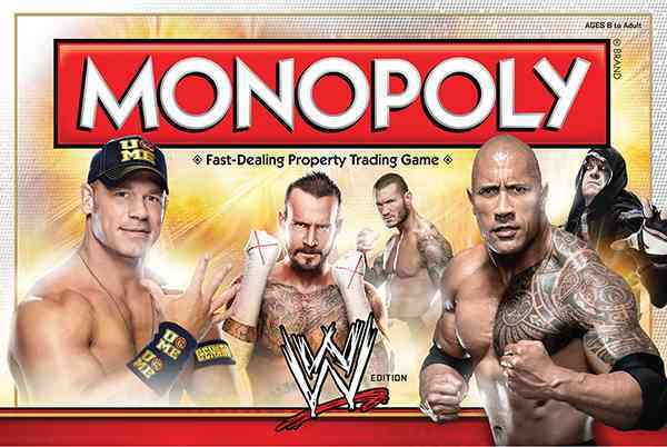 USAopoly Monopoly : Wwe Edition By Usaopoly (COR) at Sears.com